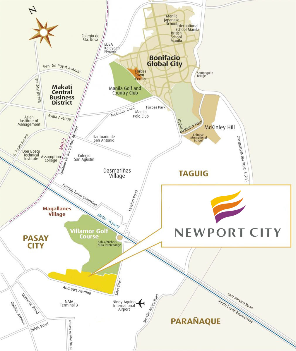view location map newport city official website